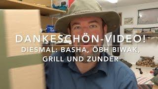 Dankeschön-Video: Tarp, Biwak, Zunder, Spannösen...