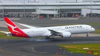BRAND NEW Qantas Boeing 787-9 DREAMLINER Landing | Sydney Airport Plane Spotting