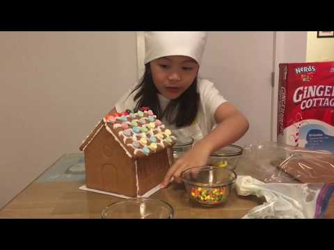 Gingerbread houses with Rosie// Gingerbread Cottage Kit (Viet Sub available)