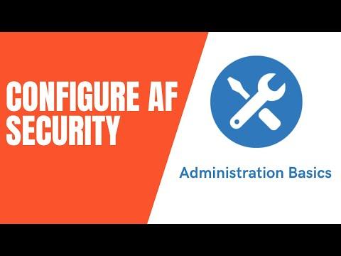 PI System Admin: Basics - Configuring User Security in Asset Framework (AF)