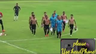Real life shaolin soccer!!! -use headphone