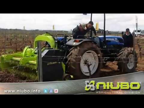 TRITURADORA SUPER MAX NIUBO - BROYEUR HORS SOL - PICK UP MULCHER