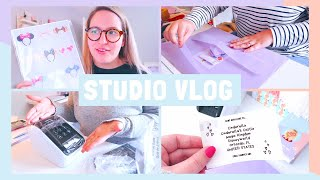 STUDIO VLOG | Exciting Products & a Label Printer Unboxing! | 037