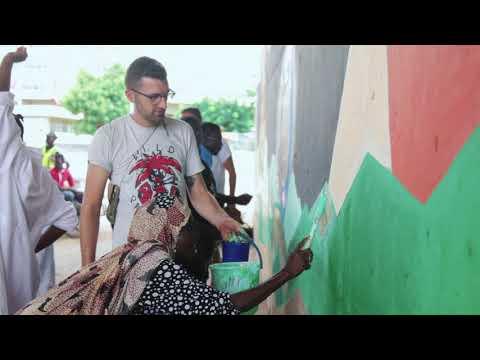 Street Art trough migrant's eyes - Niger 2019