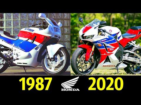 💖 Honda CBR 600RR - Эволюция ! Все Модели по Годам 👍!