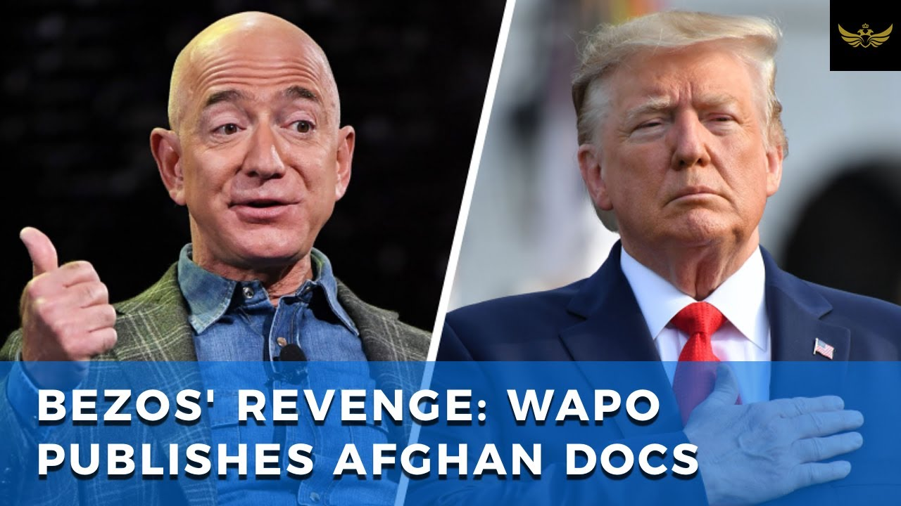 Bezos publishes Afghan docs after Amazon loses defense contract to Microsoft