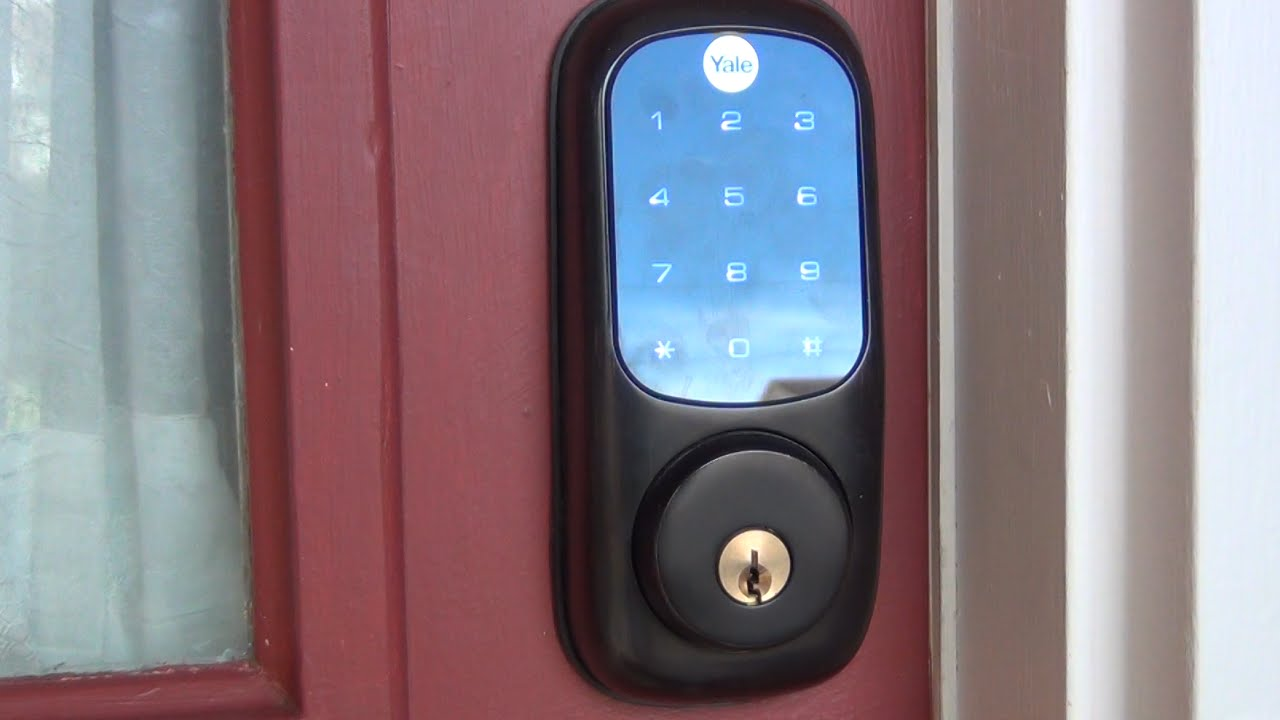 Yale Yrd220 Z Wave Touch Screen Door Lock Review Youtube