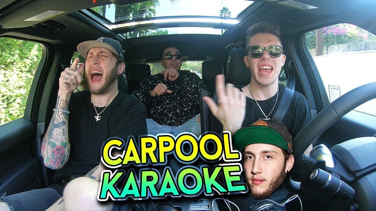 Carpool Karaoke W Faze Banks Youtube