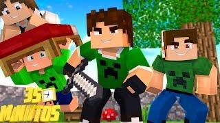 ESPECIAL 35 MINUTOS DE BEDWARS !! - Minecraft (Com JazzGhost, Spok e Junior)