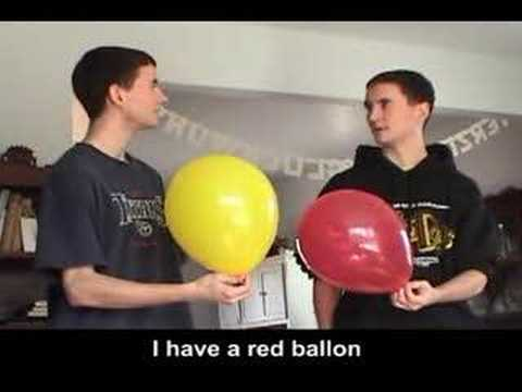 Deutsch for Dummies Lesson 1: How to Exchange Ballons