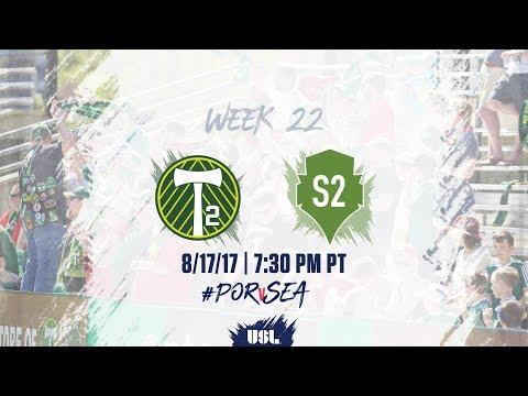 USL LIVE - Portland Timbers 2 vs Seattle Sounders FC 2 8/17/17