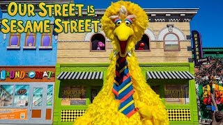 Our Street is Sesame Street the New Sesame Place Show!