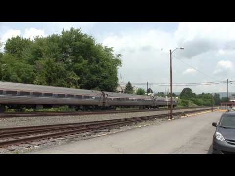 Amtrak Pennsylvanian, train 42 NS 04T Miflin, PA 6 10 15