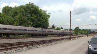 Amtrak Pennsylvanian, train 42 NS 04T Miflin, PA 6 10 15
