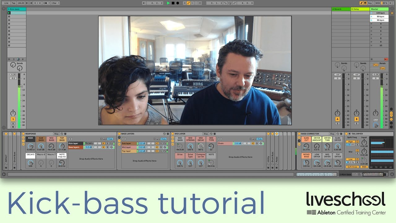 Hybrid Kick-bass sound design tutorial and download