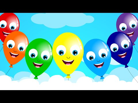 The Balloon Song | Nursery Rhyme | Kids Song