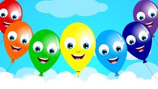 The Balloon Song | Nursery Rhyme | Kids Song