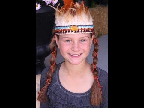 Diy Native American Princess Headband Youtube