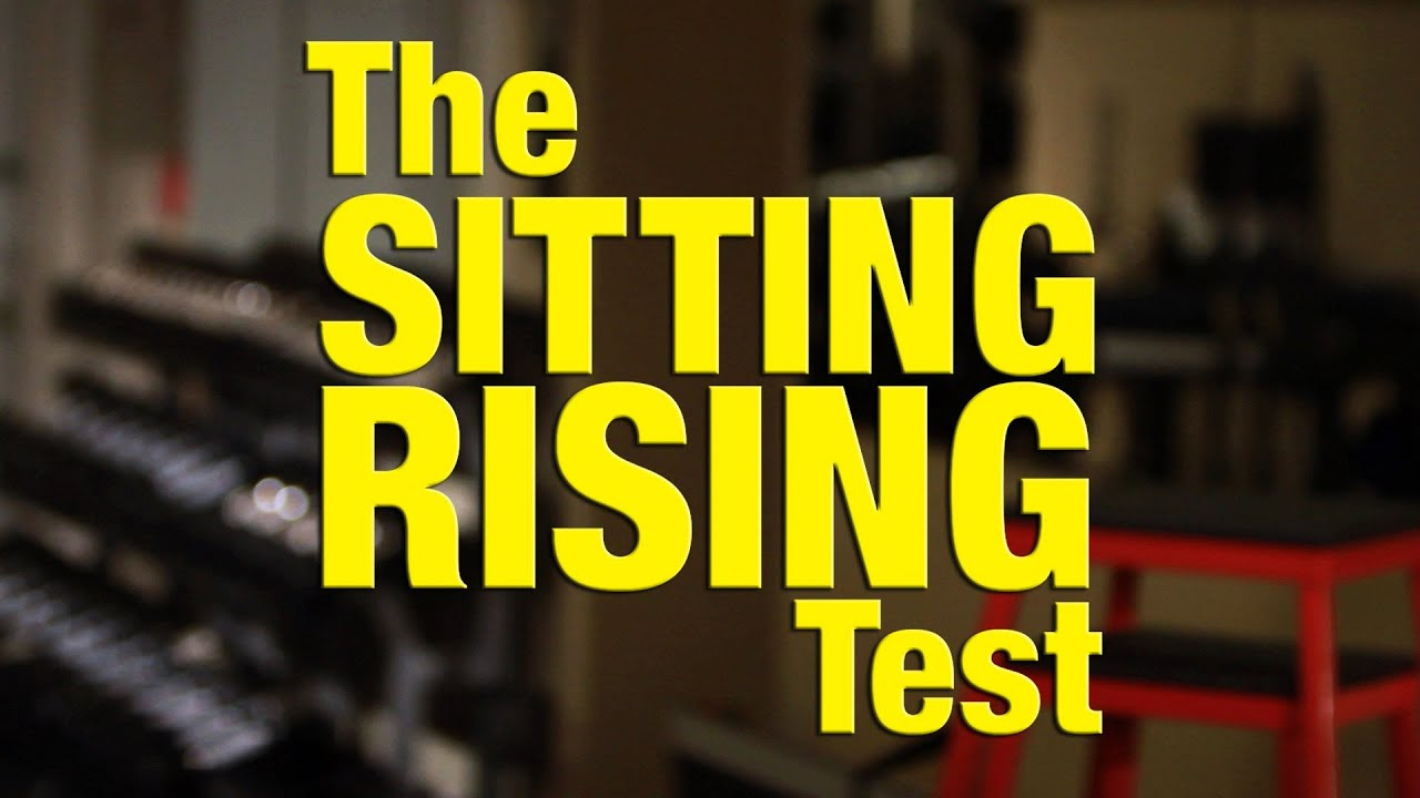 chair stand test measure metal stacking chairs sitting and rising srt youtube
