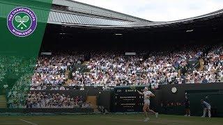 Dominika Cibulkova vs Jelena Ostapenko QF Highlights | Wimbledon 2018