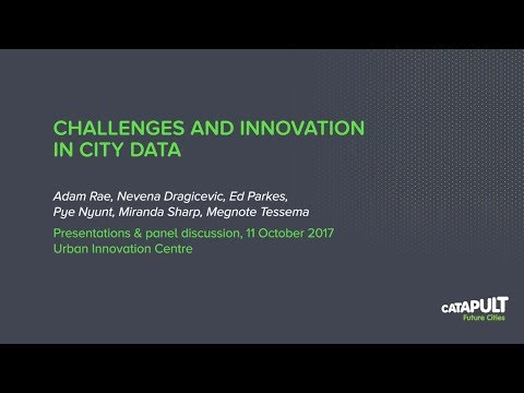 Challenges And Innovation In City Data