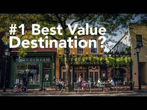 Alexandria, VA Named #1 Best Value US Travel Destination