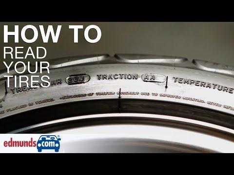 How To Read Your Tire Edmunds