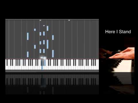 Here I Stand by Ricky Valadez (Free mp3 and Sheet Music)