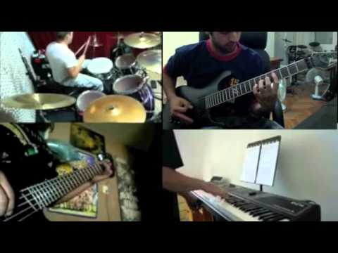 Erotomania Split Screen Cover - Dream Theater