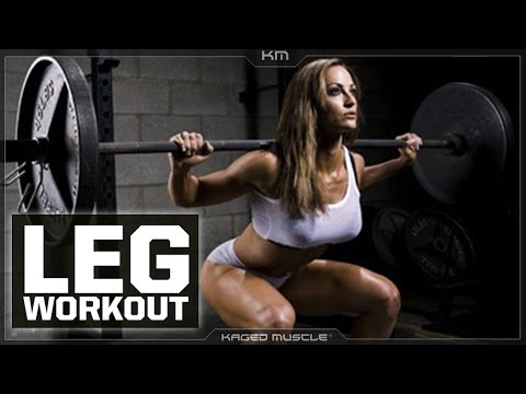 Brutal Leg Workout For Everybody | Erin Stern & Kris Gethin