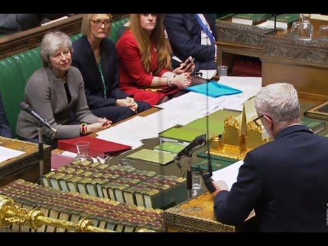 حزب العمال البريطاني يدعو إلى تصويت لسحب الثقة من ماي  - 07:54-2018 / 12 / 18