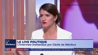 LCI interview Marlène Schiappa a propos du fourm 18-25 et de l'affaire du numéro