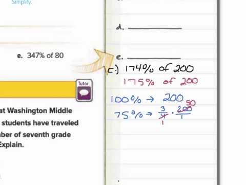 Percent and Estimation