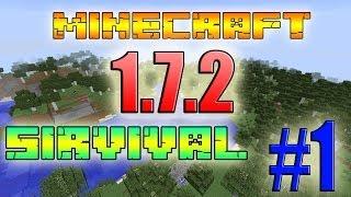 Minecraft 1.7.2 Выживание #1-Ищем место