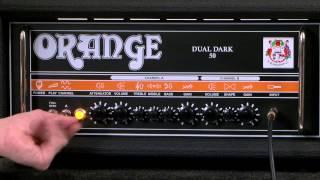 Orange Amplification Dual Dark 50 Guitar Amp