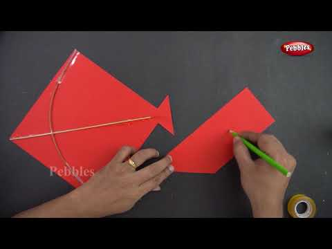 How to Make Kite for School Project | Festival Special | DIY Paper Craft