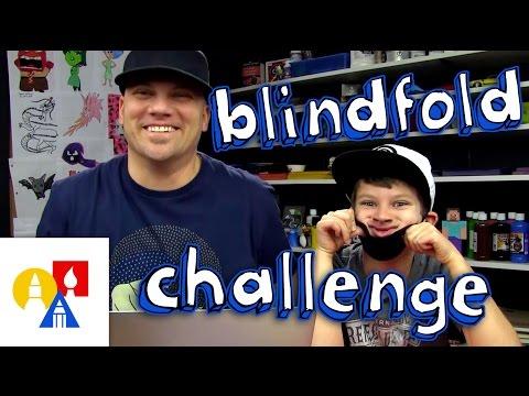Blindfold Drawing Challenge + SYA