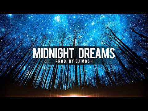 UNIQUE RAP BEAT - Atmospheric Hip Hop Beat Instrumental - Midnight Dreams (Prod. DJ Mosh)