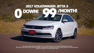 Hoy Volkswagen 2017 Jetta March $99/month Lease Special [HD]