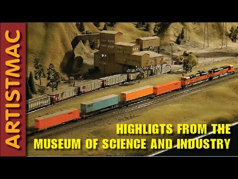 Highlights from The Museum of Science and Industry Chicago