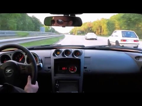 SLEEPER GOLF MK1 smokes Porsche GT3 and 350Z on the Autobahn