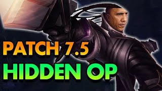 PATCH 7.5 HIDDEN OP - HOW TO CARRY AS DOUBLE GUN OBAMA (Lucian) MID - League of Legends Commentary
