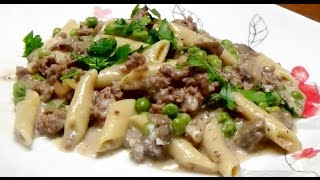 Recipe for 8 Minute Hamburger Stroganoff in my Electric Power Pressure Cooker XL