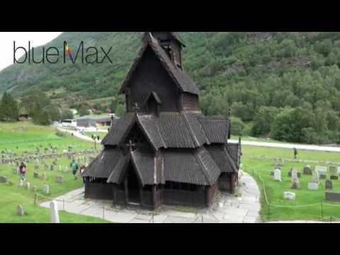 Borgund, wooden church in Norway travel guide 4K bluemaxbg.com
