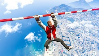 SCARY GTA 5 PARKOUR JUMPS CHALLENGE! - (GTA V Funny Moments)
