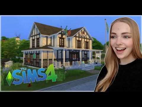 Fixer Upper Build Challenge -  Sims 4 Frat House  