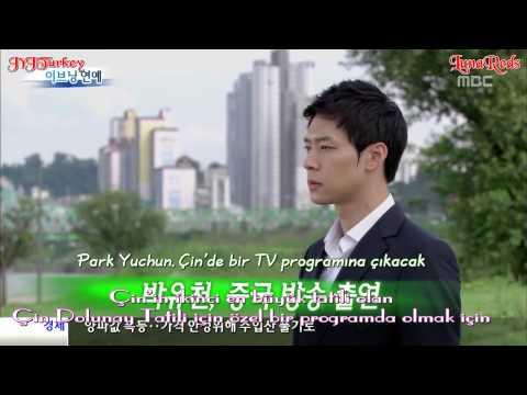 [Türkçe Altyazılı] 130215 MBC Evening Entertainment News -- Yuchun Çin Hunan TV'de