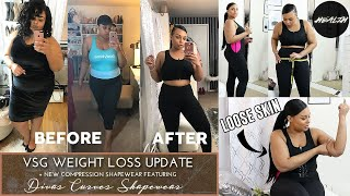 11 MONTH VSG WEIGHT LOSS UPDATE !! & COMPRESSION SHAPEWEAR TRY ON HAUL
