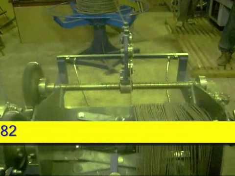 Автоматическая машина навивки спирали опор СВ