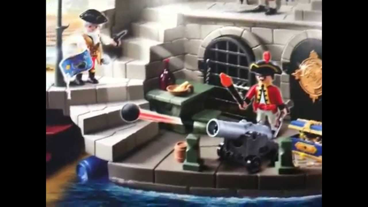 Playmobil  Pirate Adventure Island Instructions